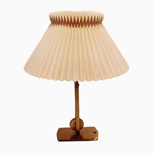 Danish Brass Model 340 Table Lamp from Le Klint, 1960s