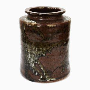 Vase Mid-Century en Céramique par Turid Mjelve pour Turid Mjelve, Norvège, 1960s