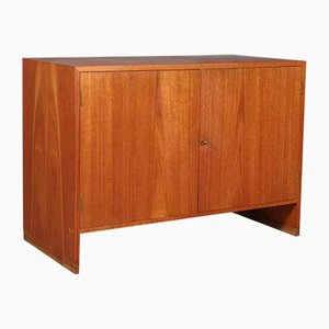 Danish Oak and Teak Cabinet by Hans J. Wegner for Ry Møbler, 1960s