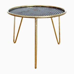 Vintage Iron Side Table, 1970s