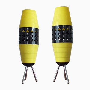 Mid-Century Table Lamps from Pokrok Žilina, 1970s, Set of 2