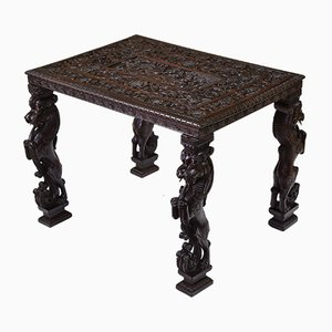 Antique Anglo Indian Rosewood Occasional Side Table