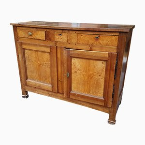 Antique Italian Empire Walnut Sideboard