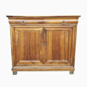Antikes französisches Louis Philippe Sideboard aus Nussholz, 19. Jh.