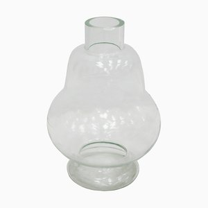 Antique French Glass and Molded Glass Vase
