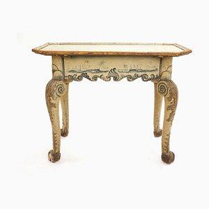 Antiker Rokoko Beistelltisch aus Holz, 1760er