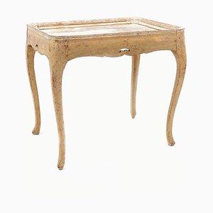 Gustavianischer schwedischer Serviertisch mit Tablett, 18. Jh.