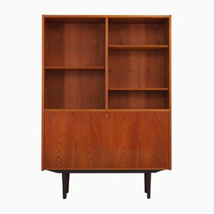 Danish Teak Veneer Bookcase from Hundevad & Co., 1960s