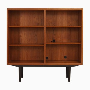 Danish Teak and Veneer Shelf from Hundevad & Co., 1960s