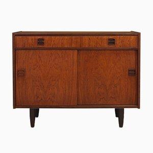 Mid-Century Danish Rosewood and Veneer Cabinet, 1960s