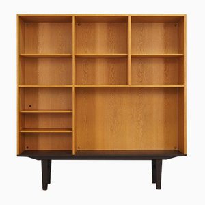 Danish Ash and Veneer Shelf by Svend Langkilde for Bramin, 1960s