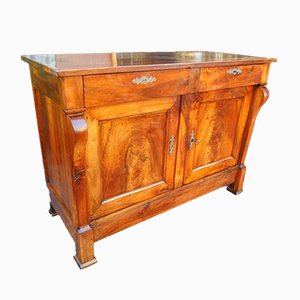 19th-Century French Empire Walnut Sideboard
