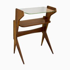 Table Console en Laiton et Verre par Ico & Luisa Parisi, Italie, 1950s