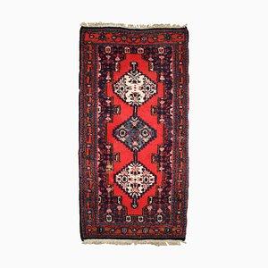 Tappeto vintage fatto a mano in lana, Medio Oriente, anni '70