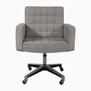 Chaise de Bureau en Tissu et Métal par Vincent Cafiero pour Knoll Inc. / Knoll International, 1960s