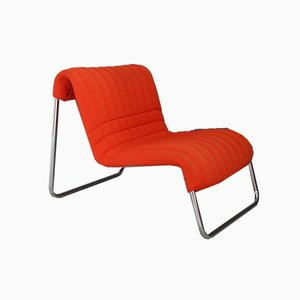 Italian Aluminum Lounge Chair by De Pas, D'Urbino and Lomazzi for Driade, 1970s