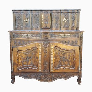 Antique 19th-Century French Walnut Sideboard