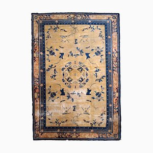 Antiker chinesischer Ningsha Teppich, 1870er