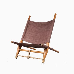 Danish Saw Lounge Chair by Ole Gjerløv-Knudsen for Cado, 1960s