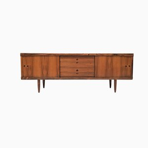 Danish Rosewood Credenza by H. W. Klein for Bramin, 1960s
