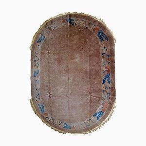 Antiker chinesischer Art Déco Teppich, 1910er