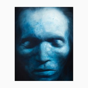 Beethoven Oil & Acrylic on Canvas by Gottfried Helnwein, 1995
