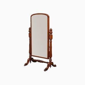 Miroir sur Chevalet Victorien Antique en Acajou
