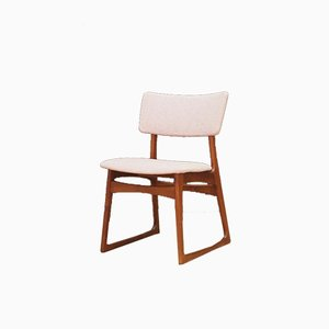 Mid-Century Danish Teak and Veneer Dining Chair, 1970s