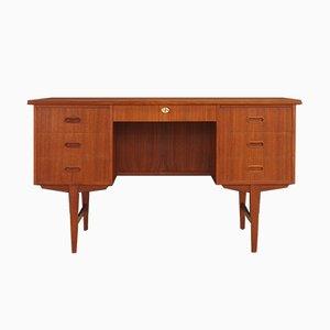 Dänischer Vintage Schreibtisch aus Teak, 1970er