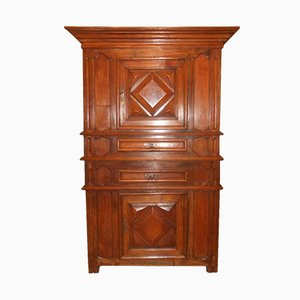 Antique 17th Century French Walnut Sideboard