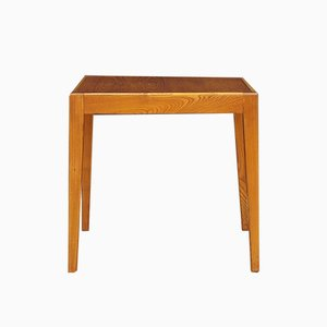 Vintage Danish Teak and Veneer Side Table, 1970s