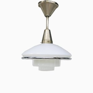 Small German Pendant Lamp by Otto Müller for Sistrah, 1930s