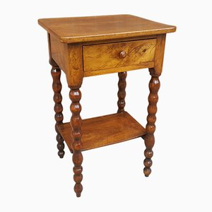 Antique 19th Century French Walnut Nightstand