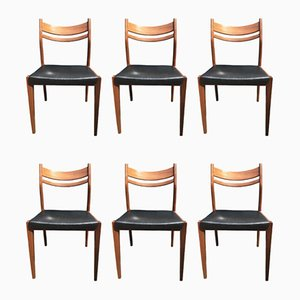 Italian Dining Chairs from Consorzio Sedie Friuli, 1960s, Set of 6