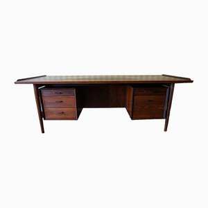 Danish Rio Rosewood Executive Desk by Arne Vodder for Sibast, 1960s
