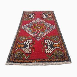Türkischer Vintage Oushak Teppich aus Baumwolle & Wolle, 1970er