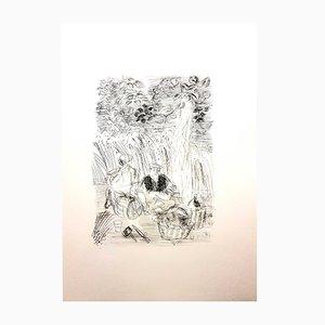 Paysan Radierung von Raoul Dufy, 1940