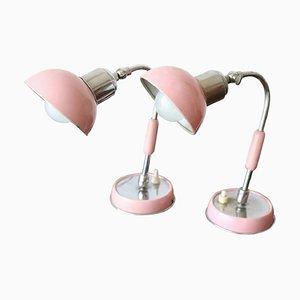 Verchromte Mid-Century Tischlampen, 1960er, 2er Set