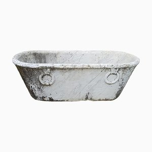 Antique Marble Bathtub or Planter, 1800s