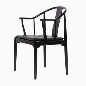 Danish Mahogany Model FH4283 China Armchair by Hans J. Wegner for Fritz Hansen, 1983