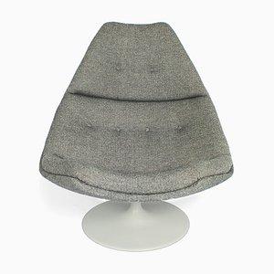 F590 Wool Swivel Lounge Chair by Geoffrey Harcourt for Artifort, 1970s