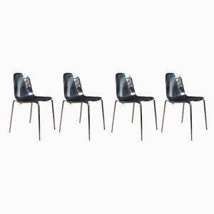 Italian Playa Chairs by Fabrizio Batoni for Domitalia, 1990s, Set of 4