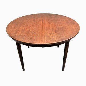 Mesa escandinava vintage de teca