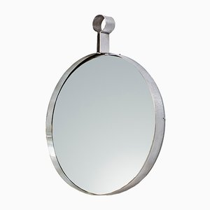 Specchio Inox vintage, Italia, anni '70