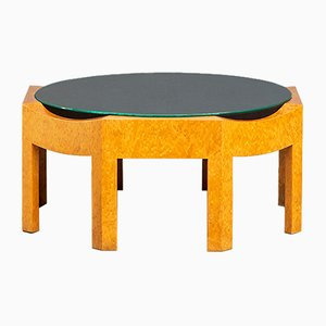 Memphis Style Italian Coffee Table by Hans Hollein for Poltronova, 1980s