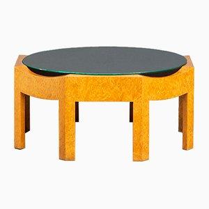 Tavolino da caffè in stile Memphis di Hans Hollein per Poltronova, Italia, anni '80
