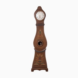Antique Birch Mora Clock