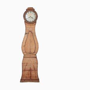 Antique Birch Mora Clock