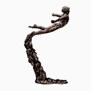 Sculpture Leap Of Faith en Bronze par Ian Edwards, 2017