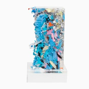 Briani Compressed Trash in Resin by Charles Osawa, 2017